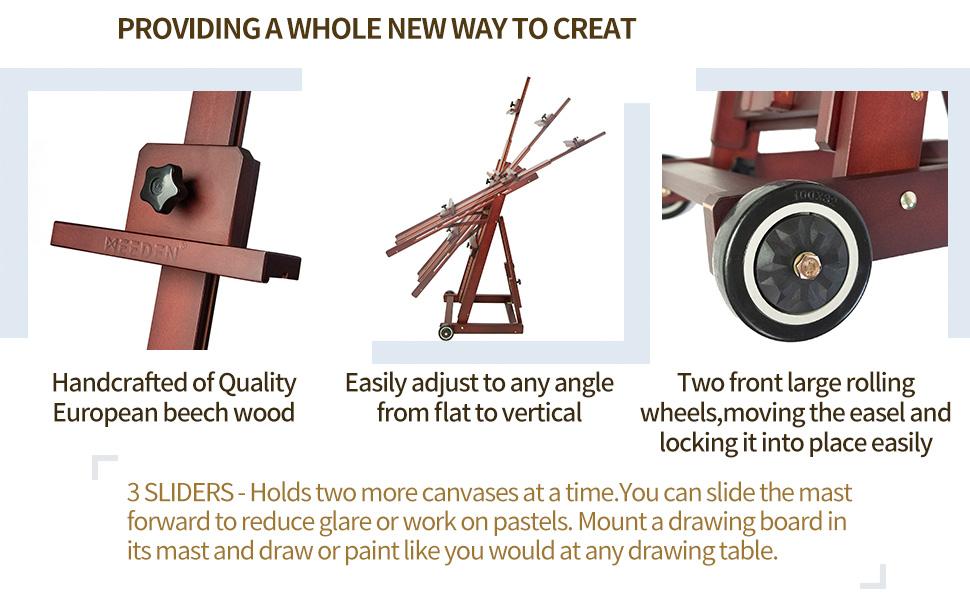 studio easel,painting easel,display easel