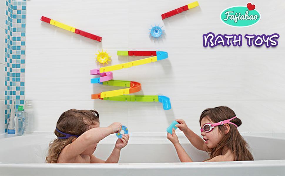 track bath toy