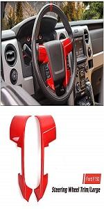 Steering Wheel Trim Cover for 2009-2014 Ford F150 SVT Raptor Only