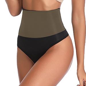 Thong Shapewear for Women Waist Cincher Girdle Tummy Control
