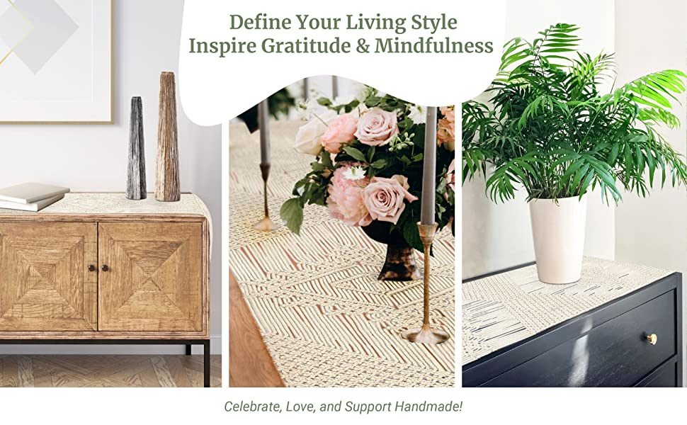 Define Your Living Style. Inspire Gratitude amp; Mindfulness. Celebrate, Love and Support Handmade!