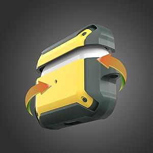 airpod pros case cover accessories protective designer airpods pro case men ulak