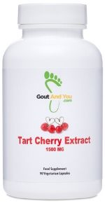 tart cherry extract uric acid