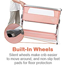 built in wheels for easy movement