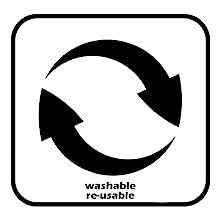 reusable&washable