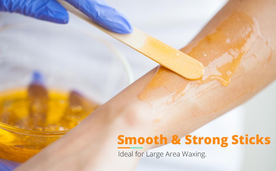 waxing sticks for hard wax