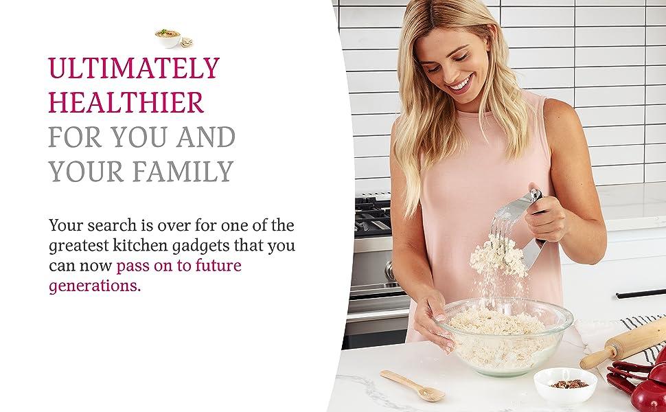 dough blender large healthy family