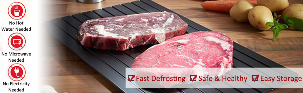 Defrosting Tray , Meat Thawing Board