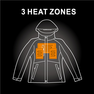 battery jacket heated jackt with hood heated winter jacket for women