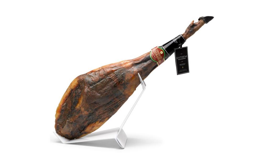 Jamón de bellota 100% Ibérico D.O (Rango 7-7,5kg): Amazon.es ...
