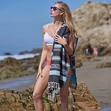 Bersuse Organic Beach Towel