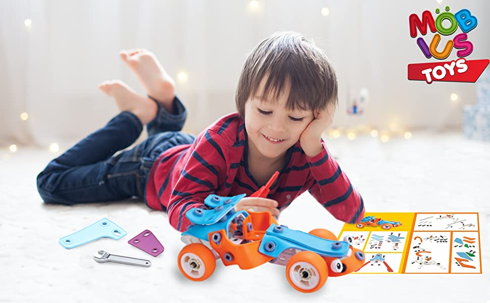 8 year old gift boy,boy 8 year old gifts,forest kids toys,5 year old toys,boy gifts for 10 year old - STEM Toys For Kids – Best 5-in-1 Building Projects Set For 6 7 8 9+ Year Old Boys & Girls That Love To Build – Creative Construction Stem Learning Engineering Gift For Birthday Christmas And All Times