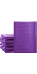 purple bubble mailers