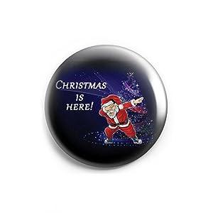 Santa Clause dance dabbing Christmas Fridge Magnets