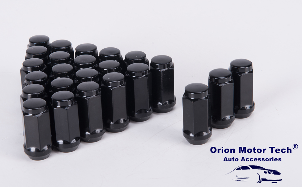 20pcs Chrome 14mm X 1.50 Wheel Lug Nuts fit 2011 GMC Sierra 1500 May Fit OEM Rims Buyer Needs to Review The spec Total Length 1.77