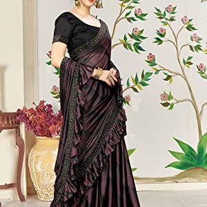 Saree for women saree for women latest design 2019 Imported Fabric Saree Lycra saree under 1000