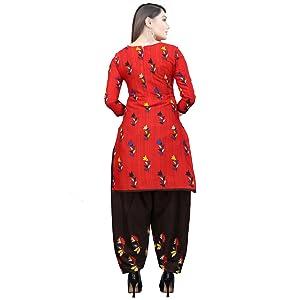 Rajnandini Women Cotton Un-Stitched Salwar Suit Material