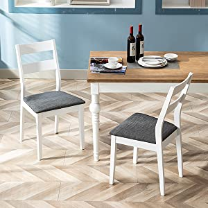 Duhome Dining Chairs Set of 2 Wood Dining Room Chair Kitchen Room Chair