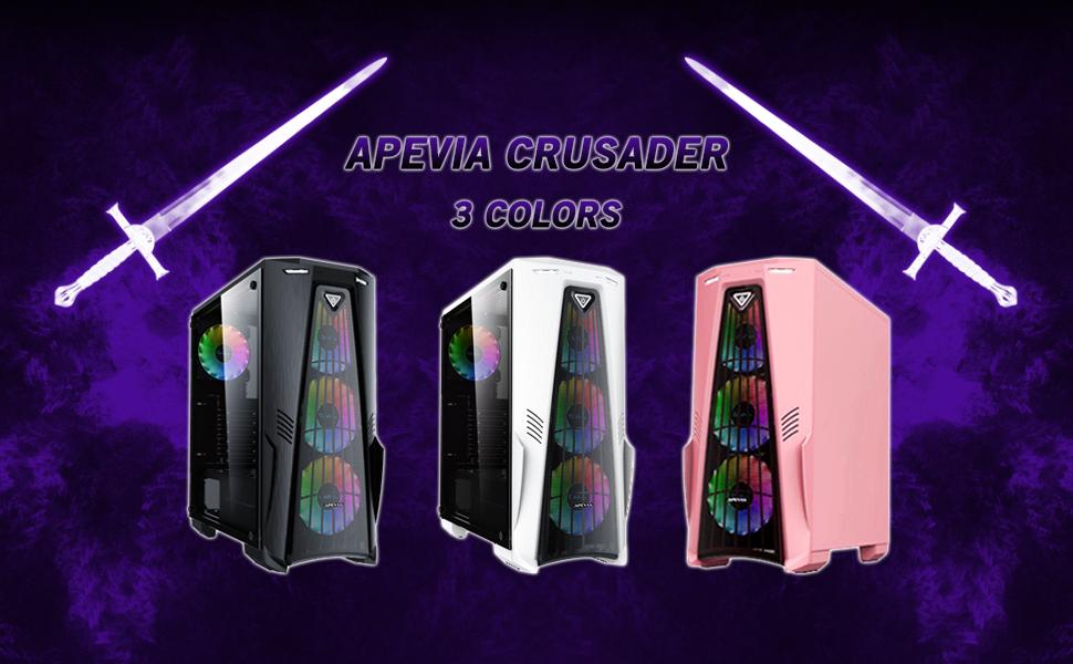 Apevia Crusader showcase