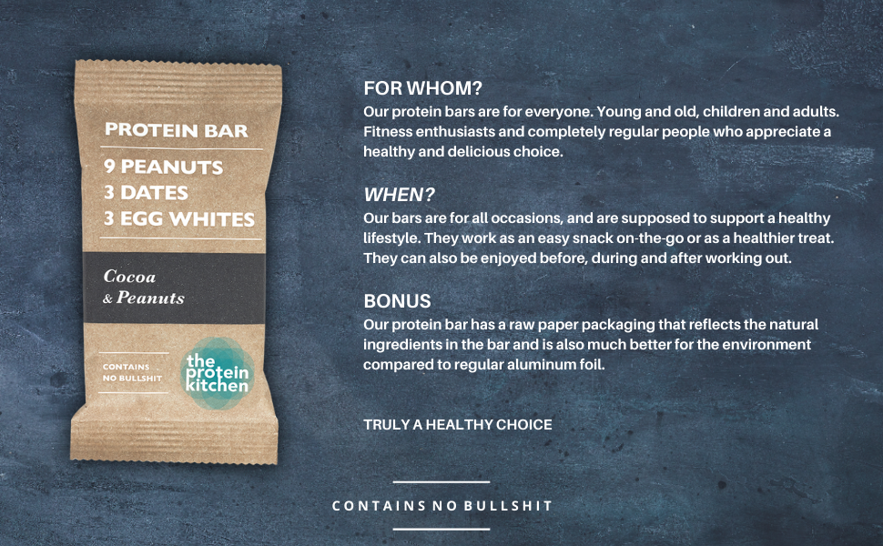 The Proten Kitchen protein bars