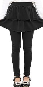 gilrs pants with skirt