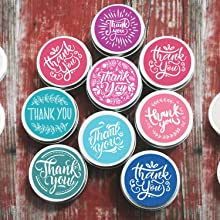 Cute Thank You Stickers