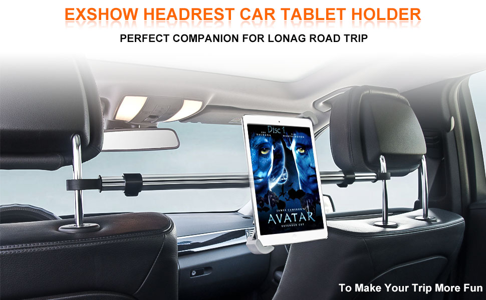 car headrest back seat tablet holder stand