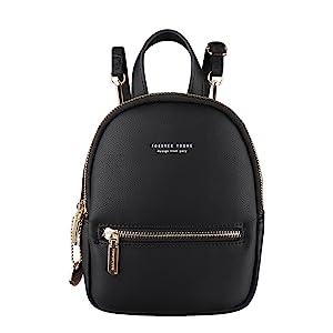 Mini backpack purse crossbody bag for women