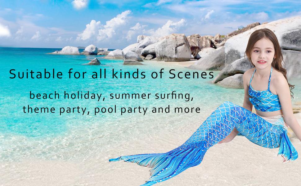 Mermaid Tail Swimsuit