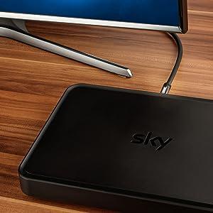 SEBSON Cable Antena TV 2m, Macho/Hembra, blindado cuádruple 105dB 75 Ohm, Cable Coaxial para Televisión (HDTV, UHD, 4K), Receptor, Radio