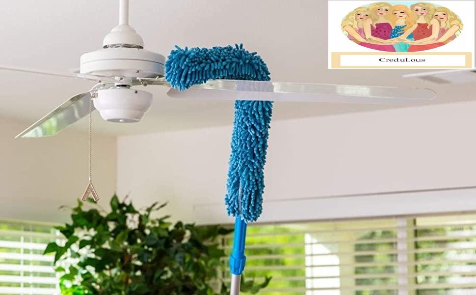 dust cleaner fan mop