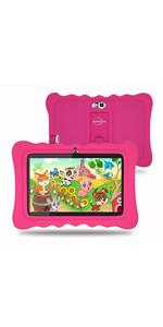 kids tablet pink