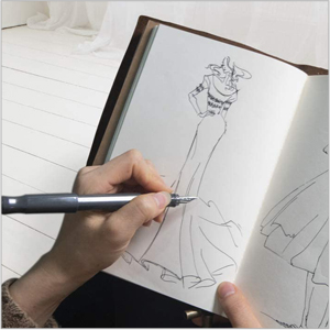 daily planner scribbler drawing book