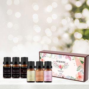 Gardenia, Lily, Lotus, Lavender, Jasmine, Roseessential oil