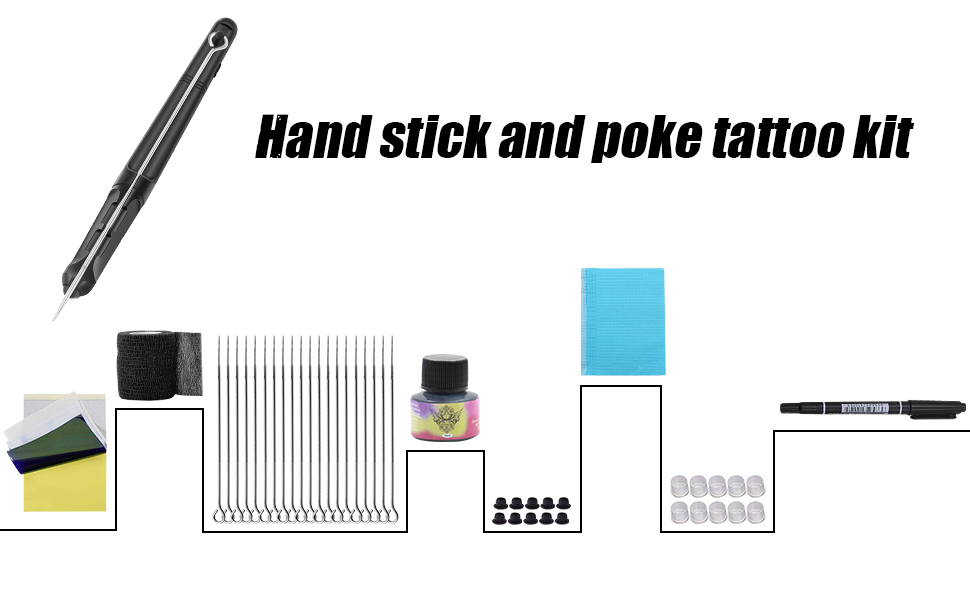 Stick Poke Tattoo Kit