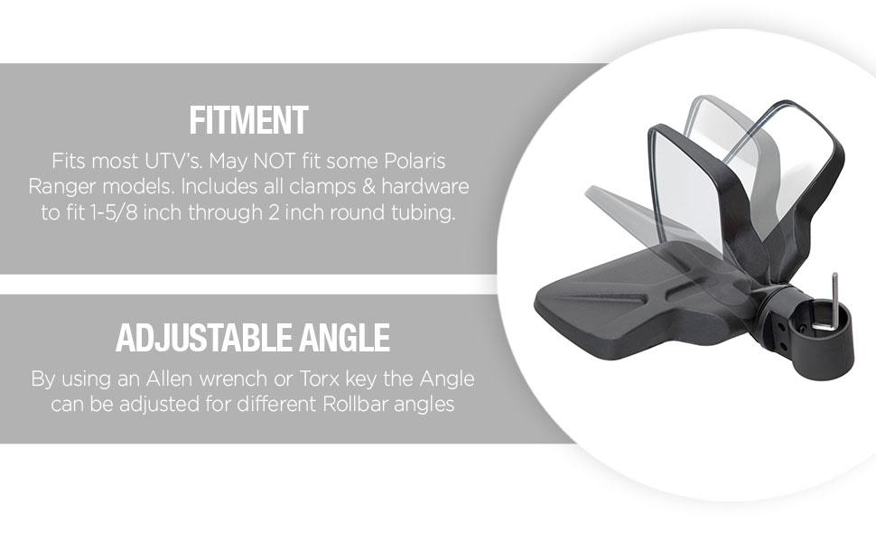 Fitment, Adjustable Angle