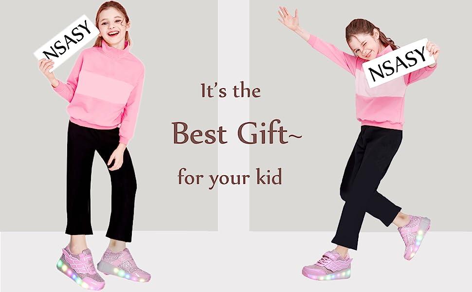Kids Roller Shoes Boy Girl Sneakers
