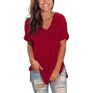 short sleeve tops
