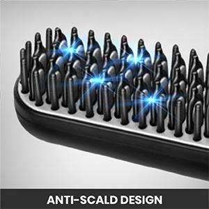 beard straightener brush comb straightner heated straightening iron for men kit hot hair mens