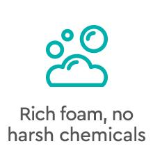 Puracy Natural Body Wash: Citrus & Sea Salt - Rich foam, no harsh chemicals