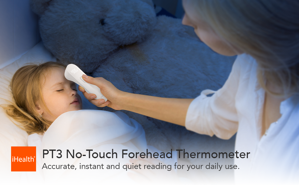 iHealth Non-contact Forehead Thermometer PT3