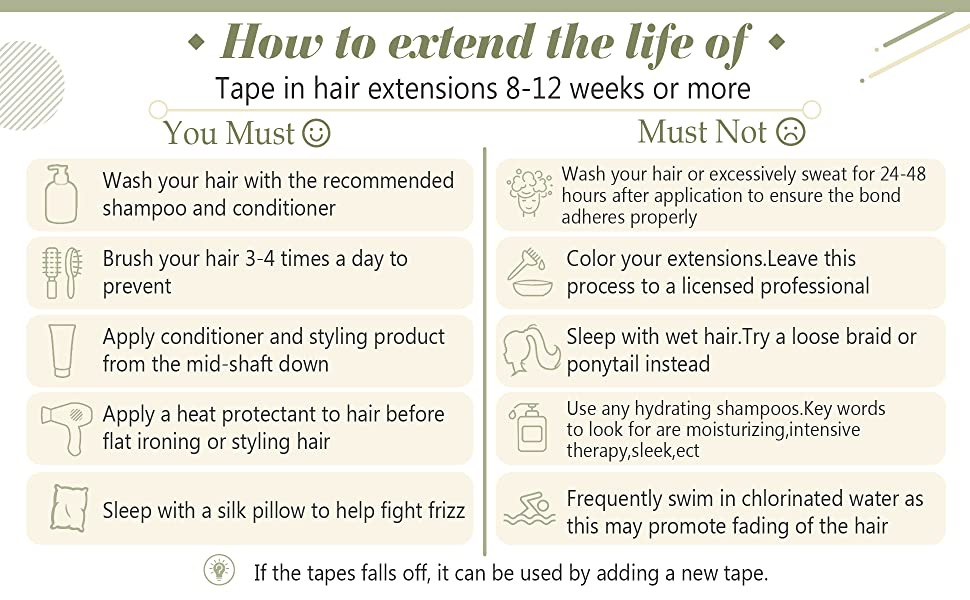 Balayage Hair Extesnions Tape in Human Hair