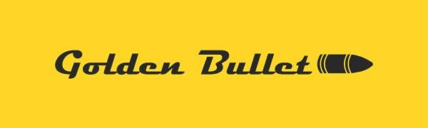 Golden bullet logo