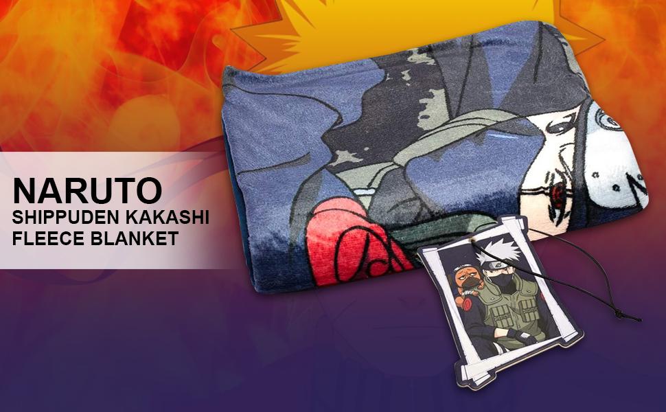Naruto Kakashi Blanket