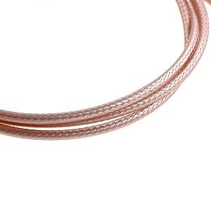 Oiyagai 2pcs 20//50cm SMA Male to SMA Female RP-SMA Extension RG316 Coaxial Cable Jumper