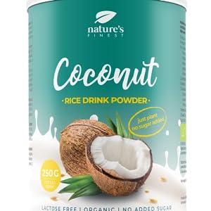 Bebida de arroz con coco en polvo Bio 250g. 250g | Se ...