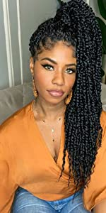 bomb twist crochet hair spring twist crochet hair ombre synthetic crochet braids