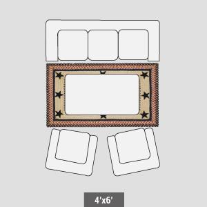 4'x6' rug