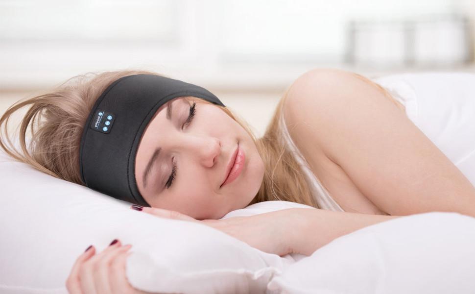 Sleep Headphones Bluetooth Headband Sleepphones Bluetooth Sleep Headphones Wireless Sports Headband