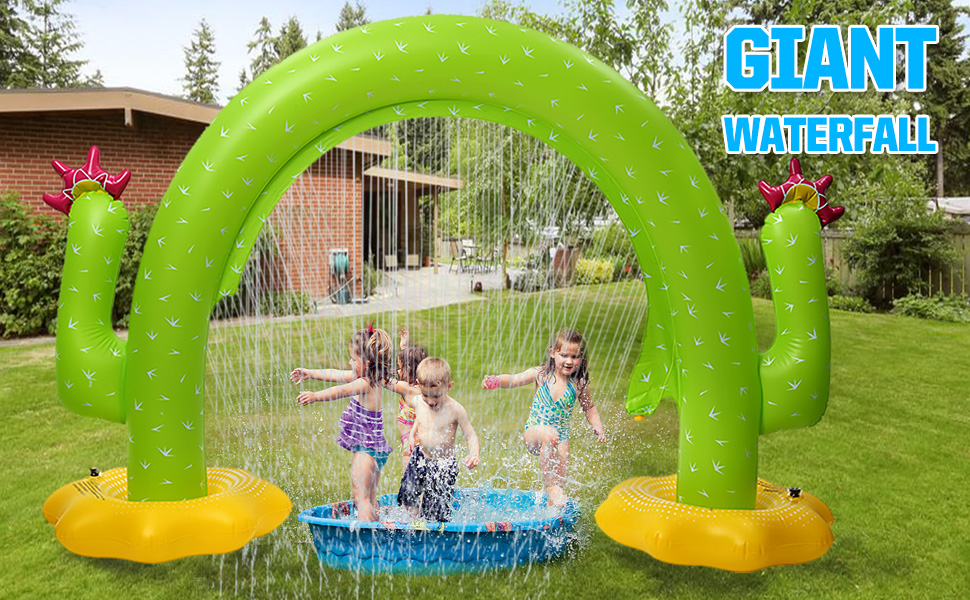 inflatable sprinklers for yard
